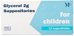 supozitoare cu glicerina copii